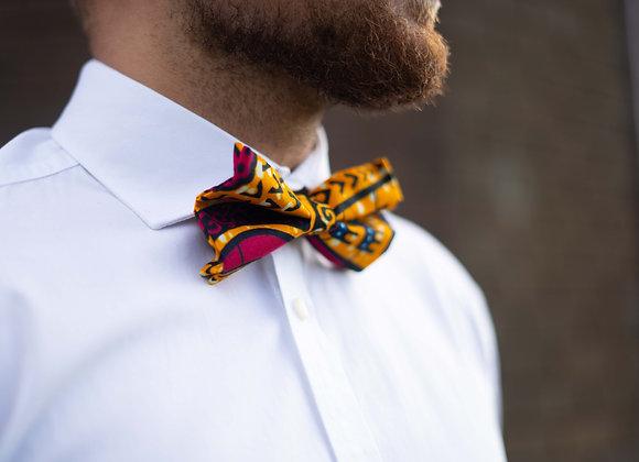 Nyoka African Print Bow Tie