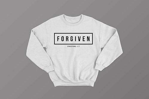 Forgiven Bible Verse Christian Sweatshirt Sweater UK by Stay Lit Apparel Christian Clothing
