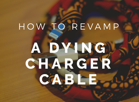 DIY Cable Cover | How To Revamp A Dying Charger