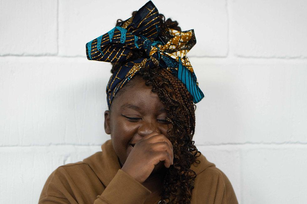 African Print Headwrap UK
