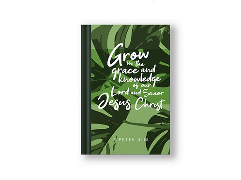 Grow in grace Bible Verse Prayer Journal