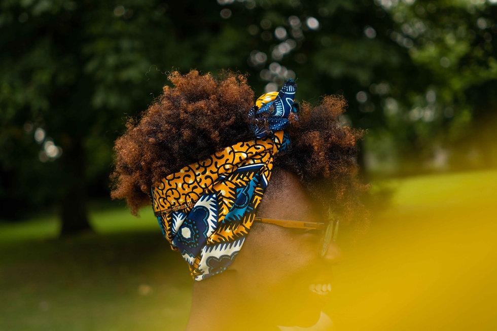 African Print Headwrap UK, Headwrap Scarf, Headwrap Asikara