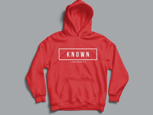 Known Christian Bible Verse Hoodie Christian Clothing Apparel by Stay Lit Apparel UK