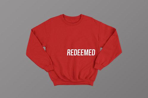 Redeemed Christian Sweatshirt UK, Stay Lit Apparel Red Sweatshirt