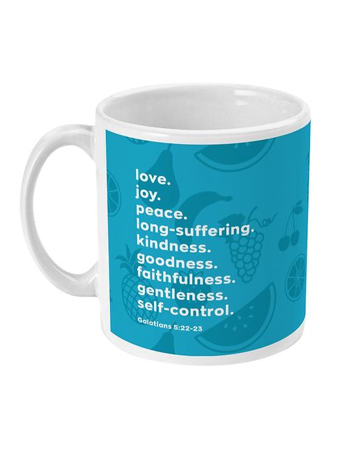 fruit of the spirit mug, Christian Gifts UK