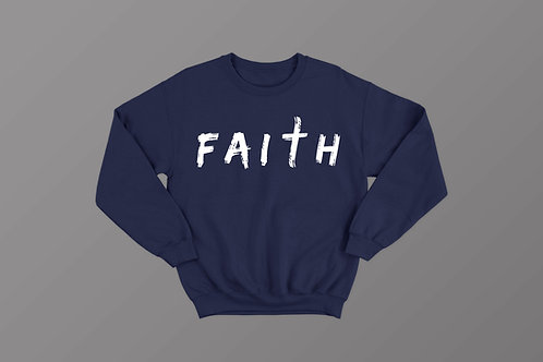 Faith Sweatshirt Christian Hoodies by Stay Lit Apparel UK