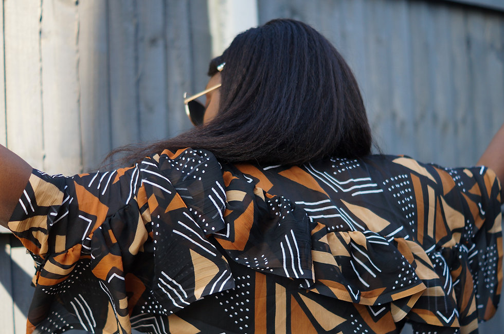 African print clothing handmade uk