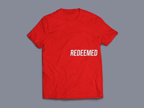 Redeemed Christian T shirt Stay Lit Apparel, Christian Clothing UK