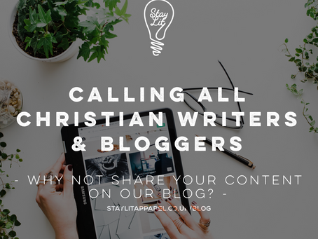 Calling all Christian Bloggers, Writers & Creatives