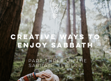 Creative Ways to Enjoy Sabbath - By Nomsa Mpofu