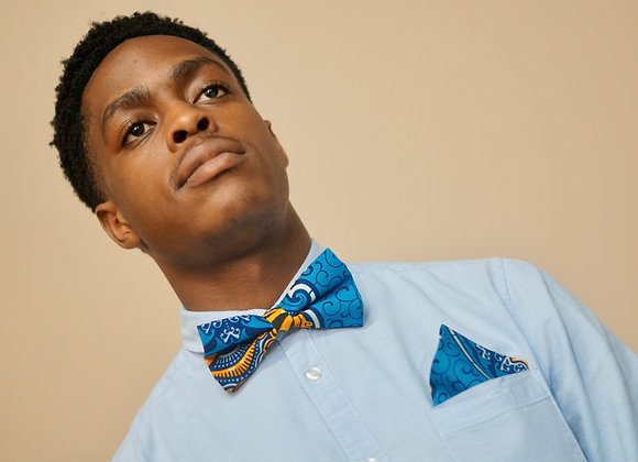 Mambo African Print Bow Tie