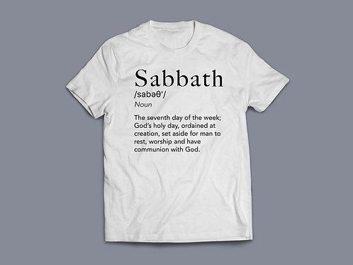 Sabbath Definition T-shirt, Christian T Shirts, Jesus Tees, Faith T-Shirts, Religious Gifts,