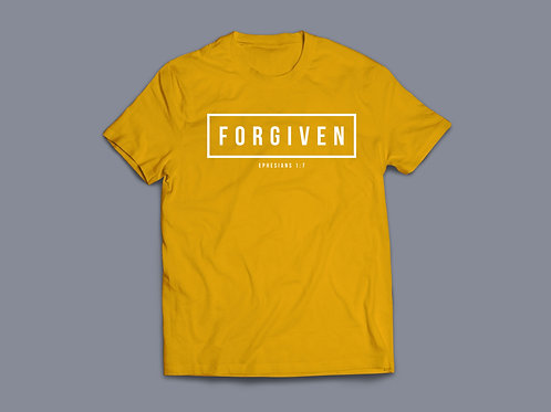 Forgiven Christian Bible Verse T-shirt Christian Apparel by Stay Lit Apparel UK