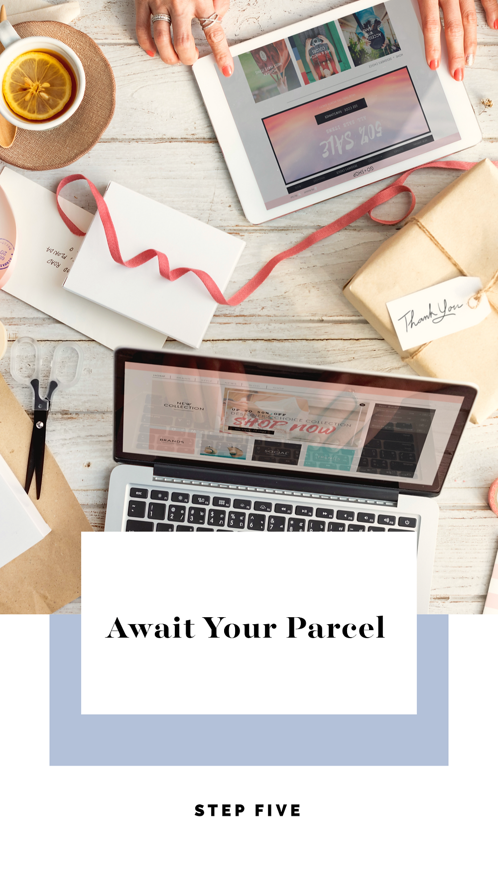 Await your parcel Asikara