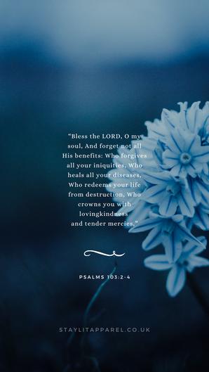 Psalms 103:2-4