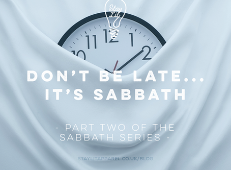 Don't be Late!...It's Sabbath - By Nomsa Mpofu