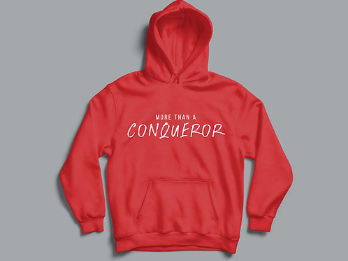 More than a conqueror Christian Hoodie