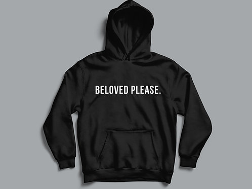 Beloved Please Meme Hoodie Christian Meme Seventh-day Adventist Hoodie Christian Clothing Stay Lit Apparel UK