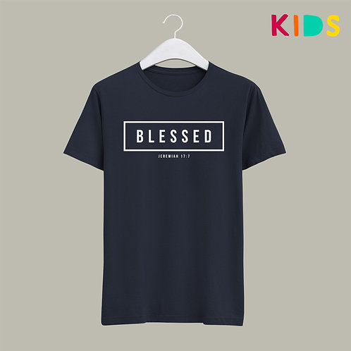 Blessed Christian Kids T-shirt Stay Lit Apparel UK Christian clothing