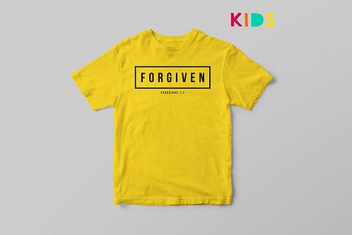 Forgiven Christian Kids T-shirt Stay Lit Apparel Christian Clothing UK