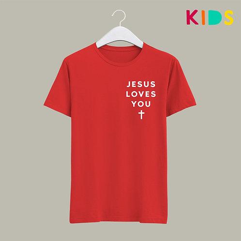 Jesus Loves You Children's Christian T-shirt