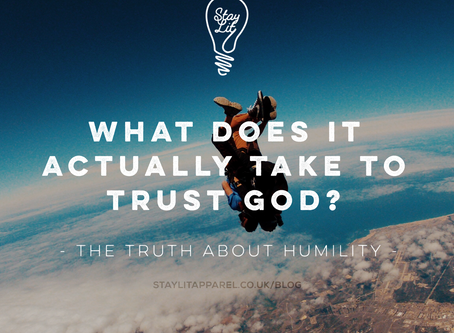 What does it actually take to trust God?