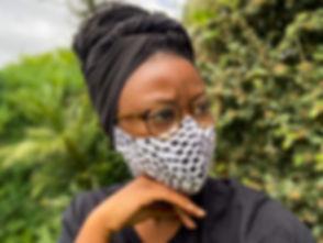 African Print Face Mask UK