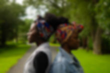 African Print Headwraps UK