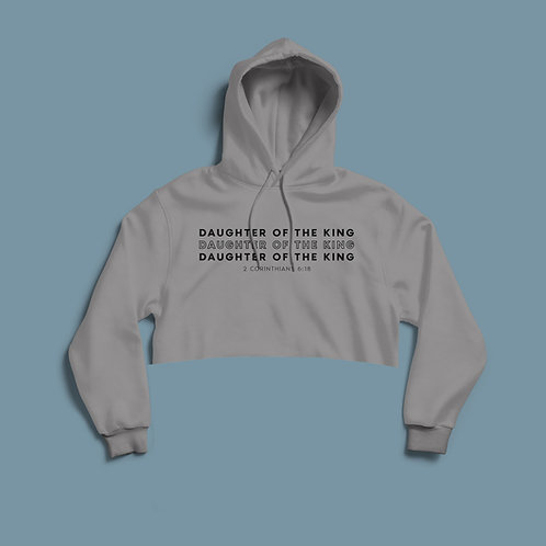 Daughter of the King Cropped Women's Hoodie