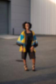 African Print Kimono African Clothing UK