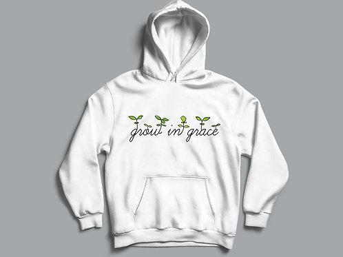 grow in grace Christian hoodie