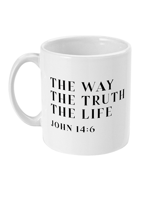 Way truth life mug