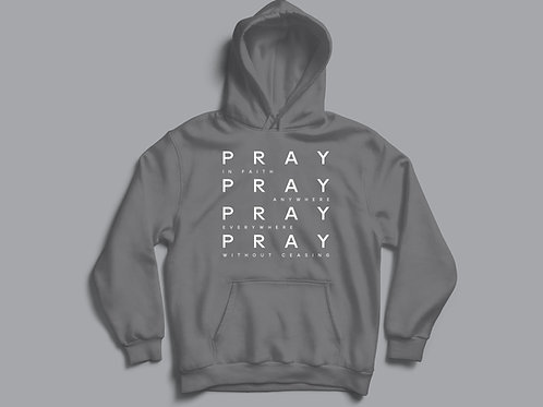 Pray without ceasing hoodie