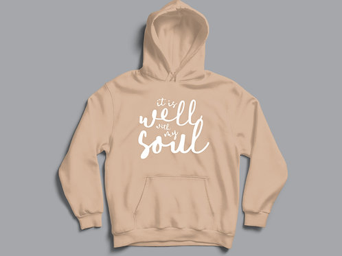 It is well with my soul Christian hoodie