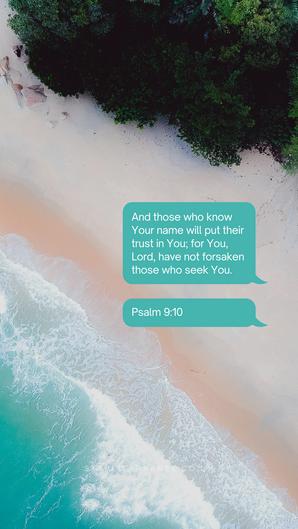 Psalms 9:10