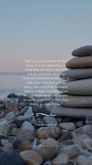 Psalms 62:5-8