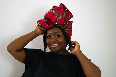 African Print Head wrap UK