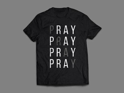 Pray without ceasing Christian Clothing by Stay Lit Apparel