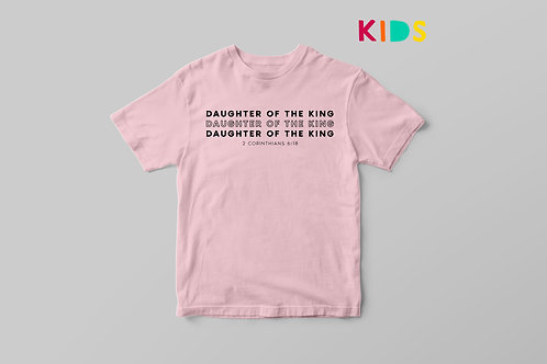 Daughter of the King Christian T shirt, Stay Lit Apparel, Fearfully and Wonderfully made t shirt