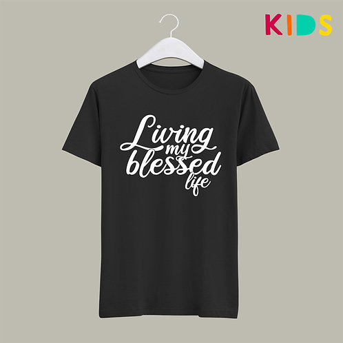 Living my best life Living my best life Kids T-shirt Christian Clothing Stay Lit Apparel UK
