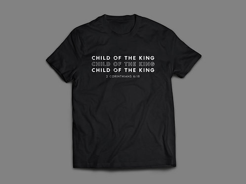 Child of the King Christian Bible Verse T-Shirt by Stay Lit Apparel