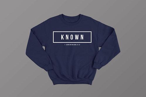 Known Christian Bible Verse Sweatshirt