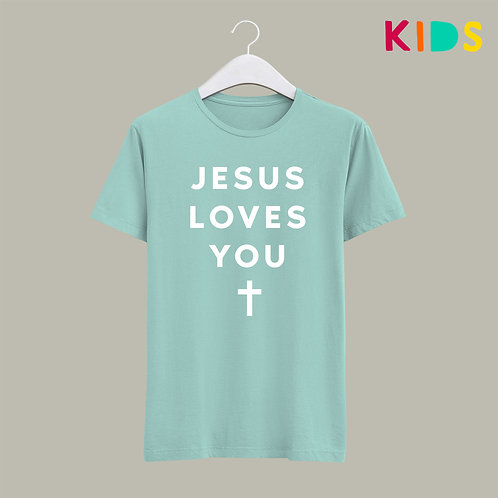 Jesus Loves You Kids Christian T-shirt