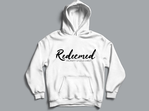 Redeemed property of Jesus Christ Christian Clothing UK by Stay Lit Apparel