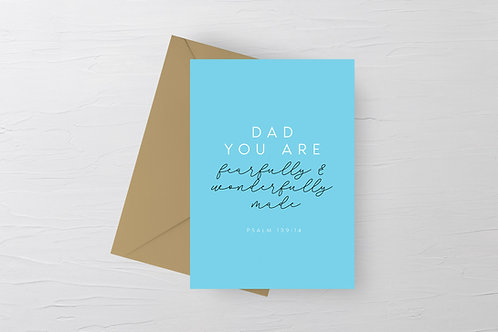 Father's Day Card for Christian