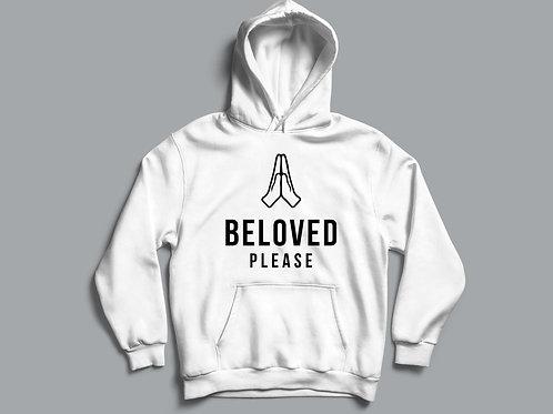 Beloved Please Christian Meme Hoodie Christian Clothing Stay Lit Apparel UK