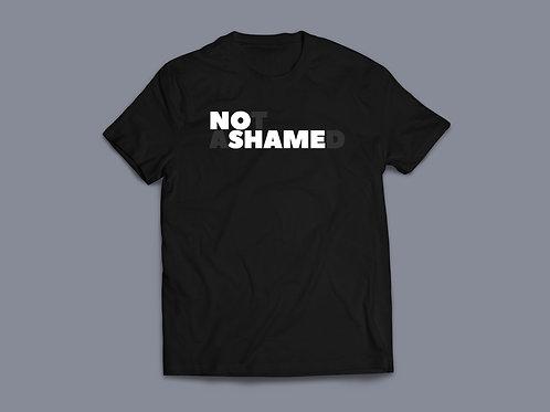 Not Ashamed no shame Christian T-shirt Stay Lit Apparel Christian Clothing UK