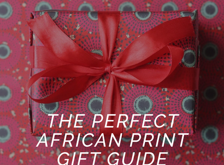 The Perfect African Print Gift Guide