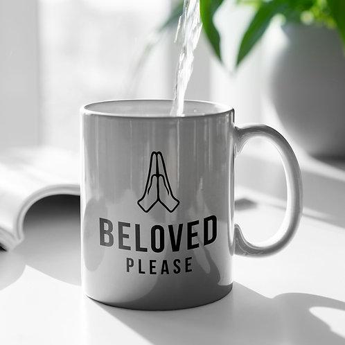 Beloved Please Meme Mug Christian Gift by Stay Lit Apparel UK Christian Clothing