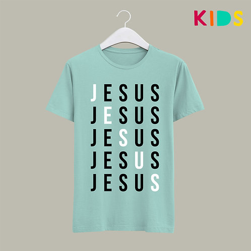 Bold Jesus Christian Kids T-shirt Stay Lit Apparel Christian Clothing UK